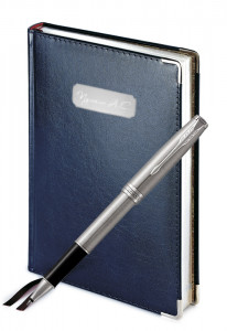 Подарочный набор Ручка Роллер Parker Sonnet Stainless Steel Ct Imperium