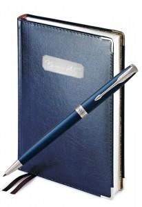 Подарочный набор Parker Sonnet Laque Blue CT Imperium