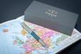 Перьевая ручка Parker Sonnet Premium Metal Blue CT