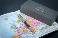 Перьевая ручка Parker Sonnet Premium Metal Red CT