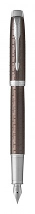 Перьевая ручка Parker IM Premium Brown CT