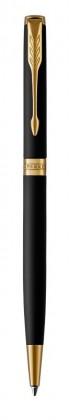 Шариковая ручка Parker Sonnet Matte Black GT Slim