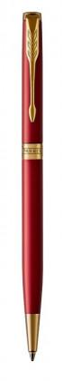 Шариковая ручка Parker Sonnet Laque Red GT Slim