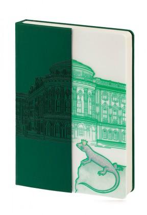 Блокнот «Города. Екатеринбург», зеленый