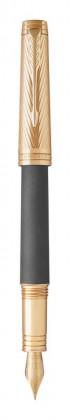 Перьевая ручка Parker Premier Storm Grey GT