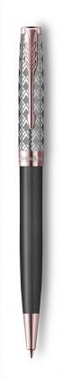 Шариковая Ручка Parker Sonnet Premium Metal Grey PGT