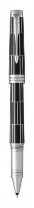 Ручка роллер Parker Premier Luxury Black CT