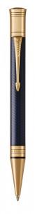 Шариковая ручка Parker Duofold Prestige Centennial Blue Chevron GT
