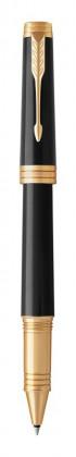 Ручка роллер Parker Premier Laque Black GT