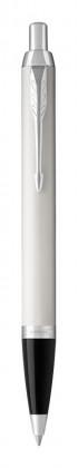Шариковая ручка Parker IM Metal White CT