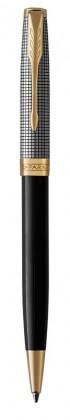 Шариковая ручка Parker Sonnet BLACK SILVER GT