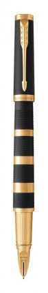 Ручка Parker 5-th Пятый элемент Ingenuity Large Black Rubber & Metal GT