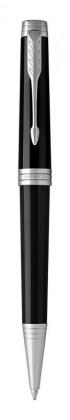 Шариковая ручка Parker Premier Laque Black СT