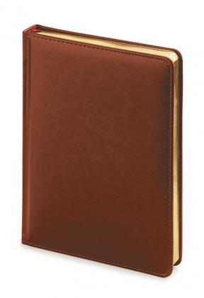 Ежедневник недатированный А5 Sidney (коричневый)