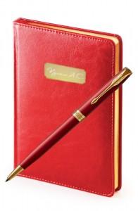 Подарочный набор Parker Sonnet Laque Red GT Sidney