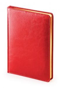 Ежедневник недатированный А5 Sidney (красный)