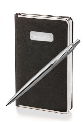 Подарочный набор Parker Jotter Stainless Steel CT Bridge Black