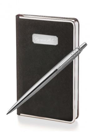 Подарочный набор Parker Jotter Stainless Steel CT Bridge Black