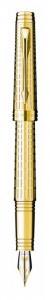 Перьевая ручка Parker Premier Deluxe Chiselling GT (2013)