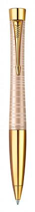 Шариковая ручка PARKER URBAN PREMIUM VACUMATIC GOLDEN PEARL