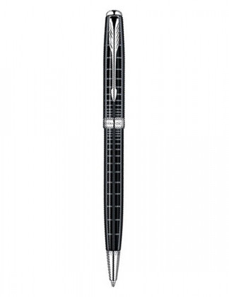 Шариковая ручка PARKER SONNET PREMIUM DARK GREY LAQUER CT