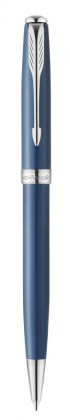 Шариковая ручка PARKER SONNET SECRET BLUE SHELL СТЕРЖЕНЬ M BLACK